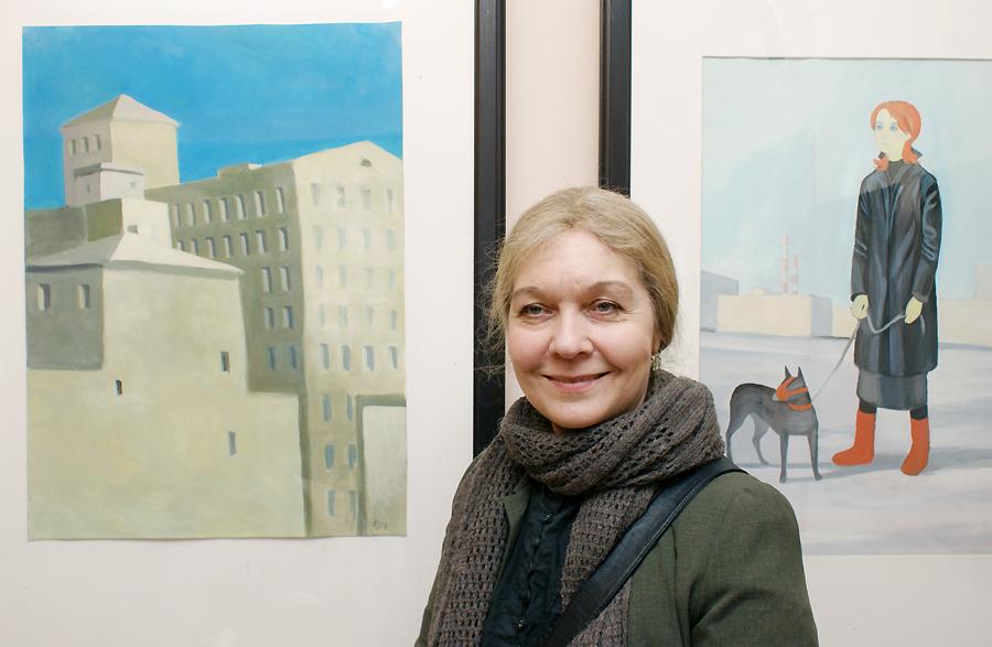 Питерская художница сто дней вела дневник на карантине