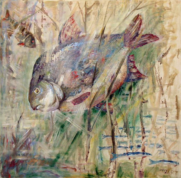 на что клюёт рыба в апреле