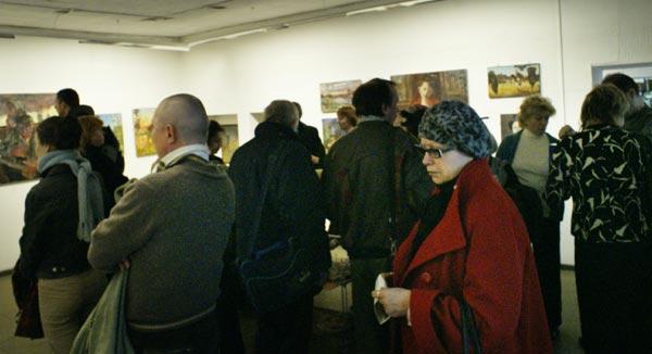 Общение на выставке
