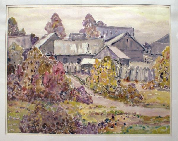 В деревне владимир прошкин осень в
